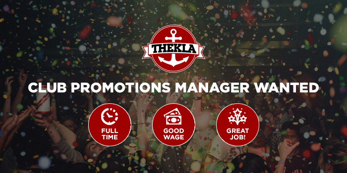 Careers Club Promotions Manager Thekla