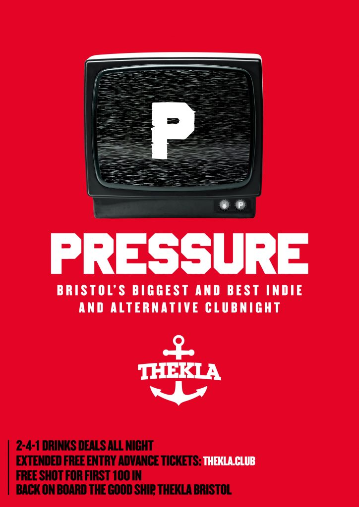 Pressure Poster Bristol