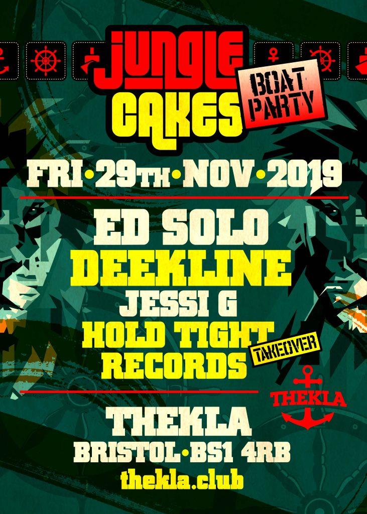 Jungle Cakes Bristol Ed Solo Thekla