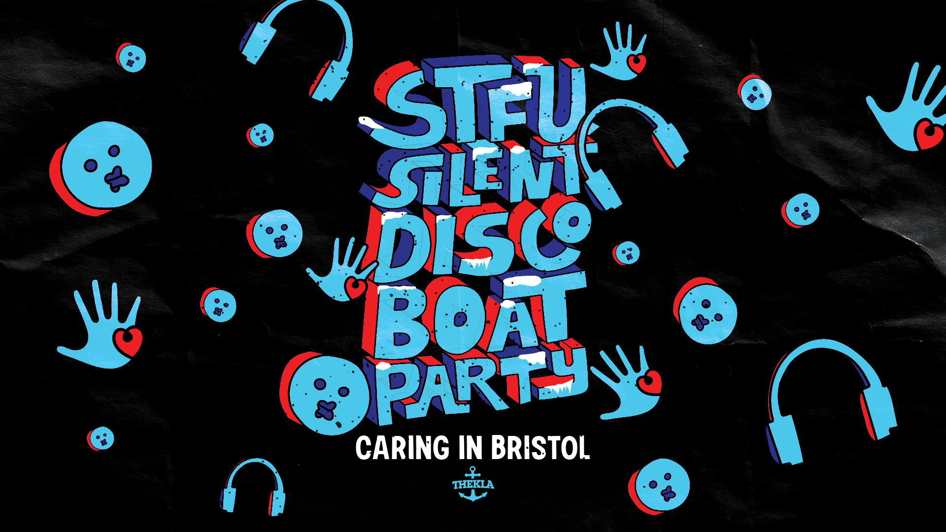 Silent Disco Caring In Bristol Fundraiser Event Image