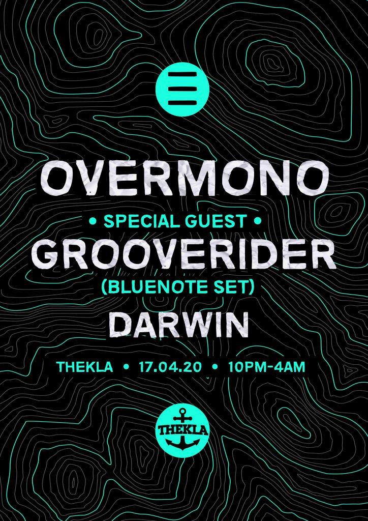ESO Grooverider Overmono Darwin Thekla