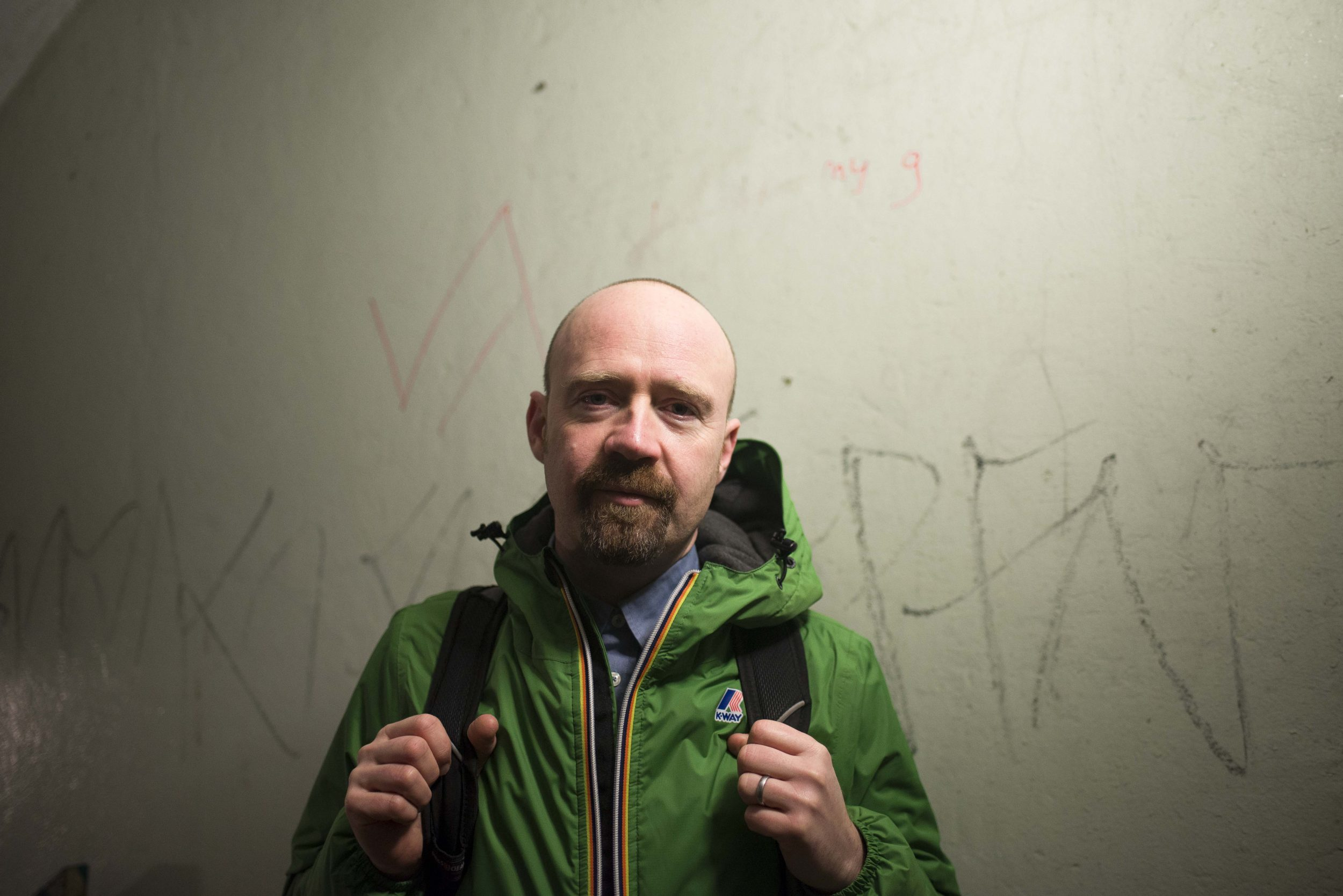 Picture of Mr Scruff for the Thekla Isolation Discs Podcast
