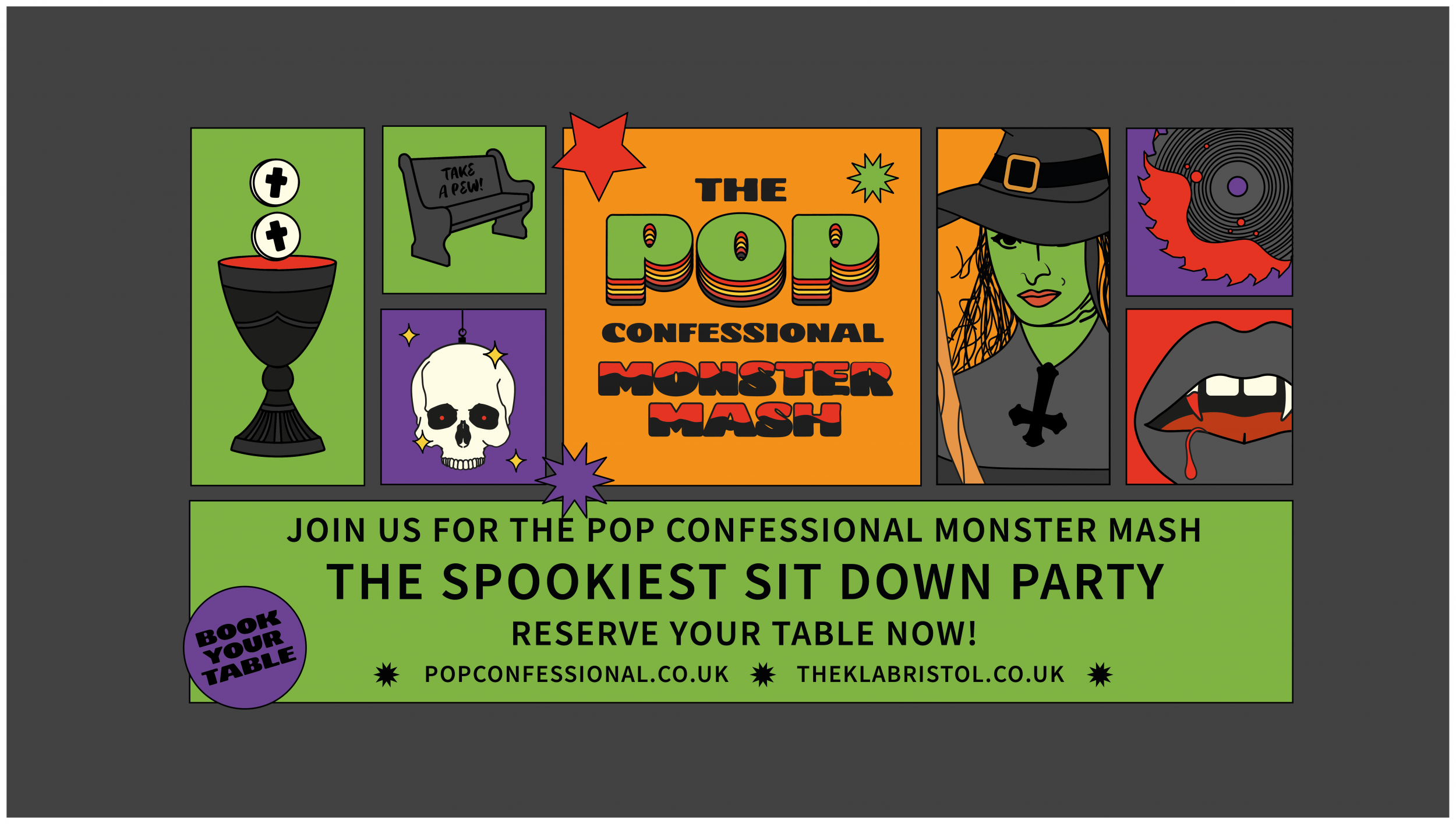 POP Confessional ✞ The Monster Mash